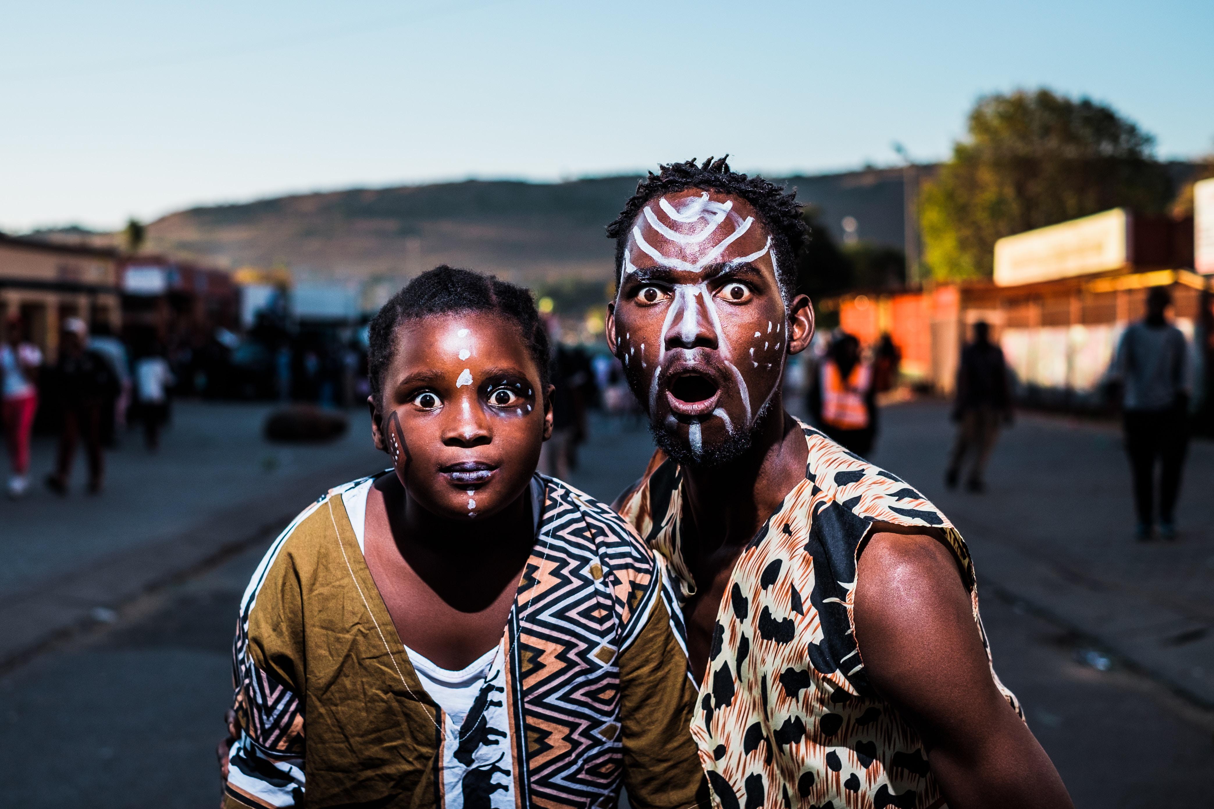 Couleurs d'Afrique du Sud